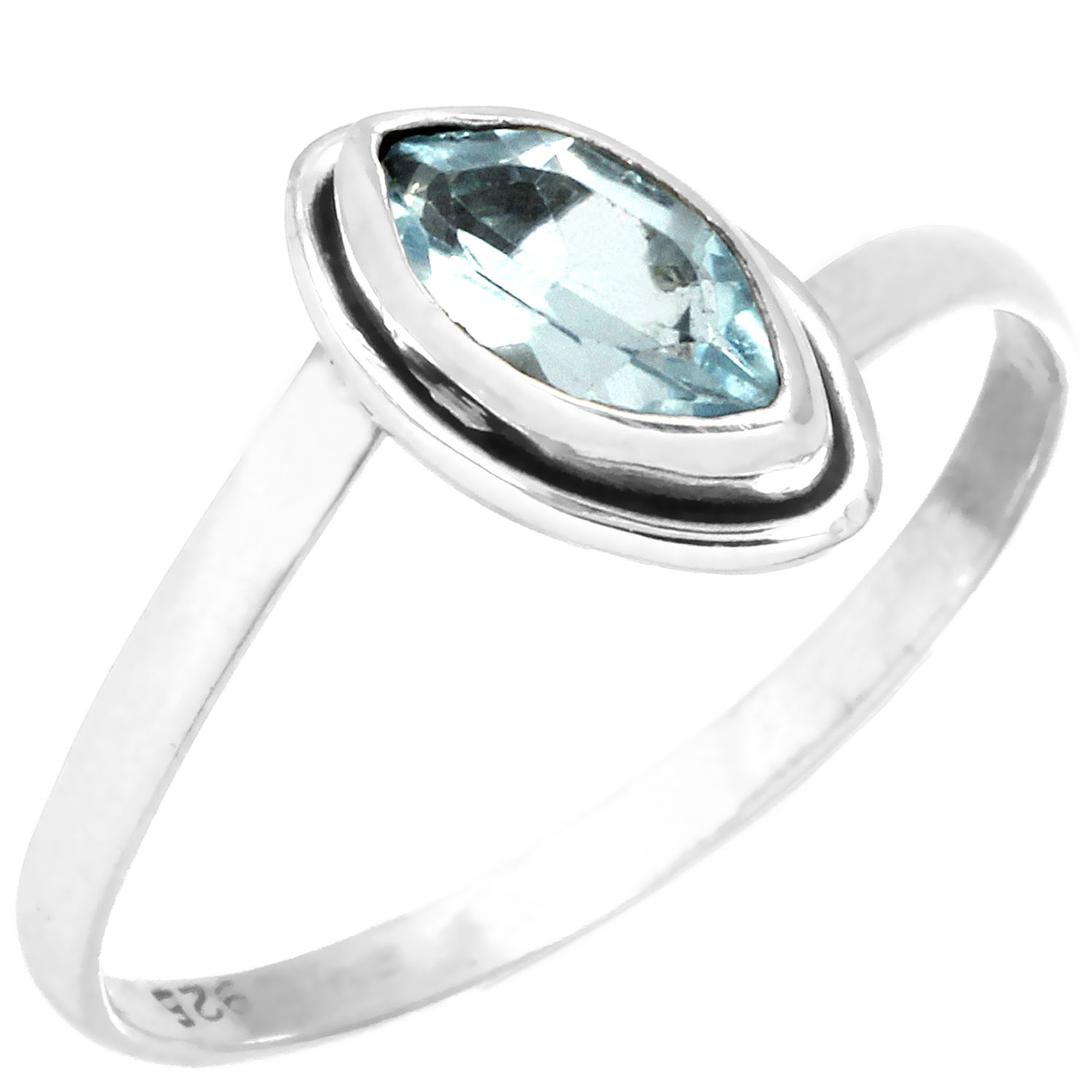 wholesale Wholesale Sterling Silver Gemstone Ring (rg812btpf_10)
