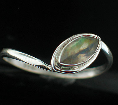 wholesale Sterling Silver Gemstone Ring (rg812ctf_8)