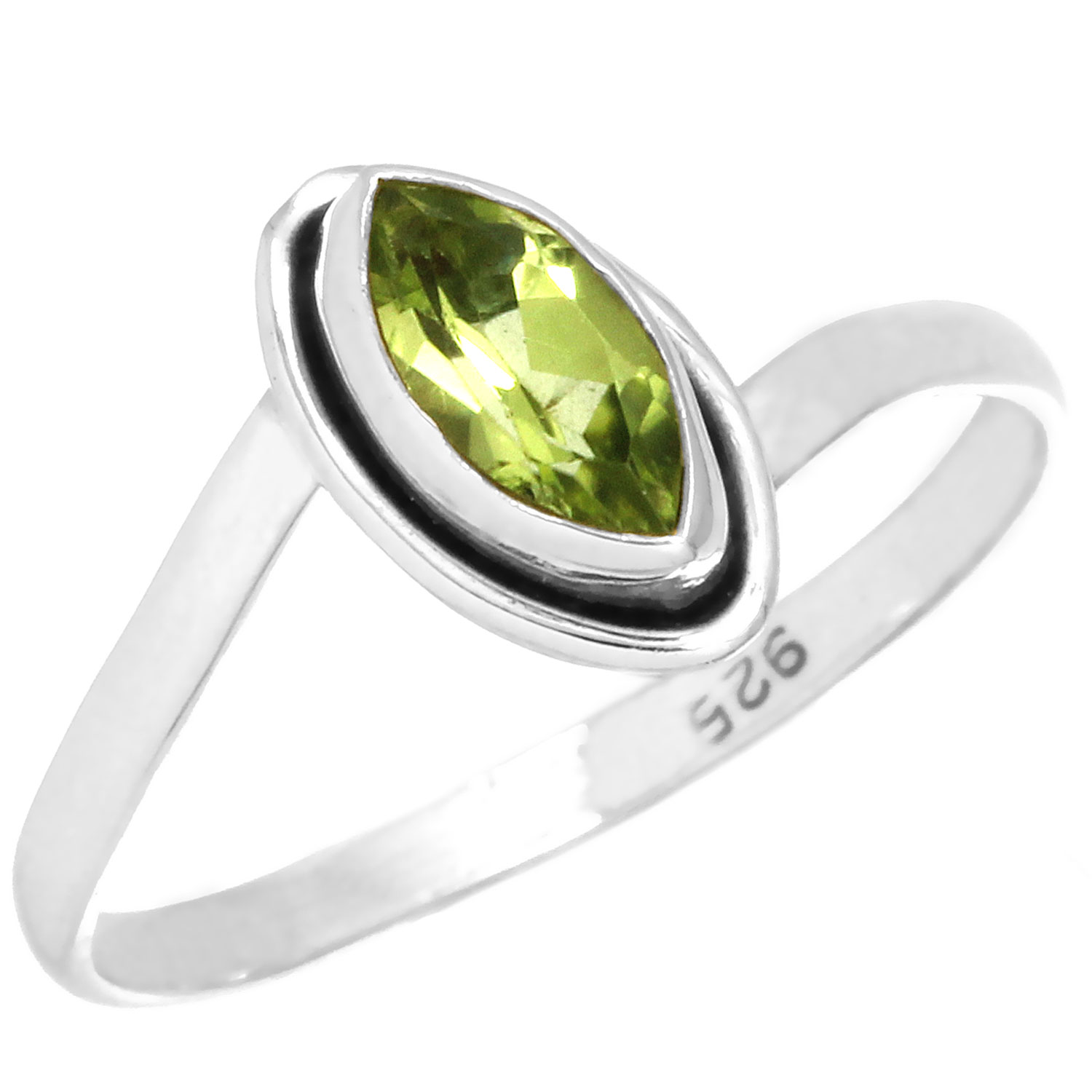 wholesale Sterling Silver Gemstone Ring (rn812prf_8)