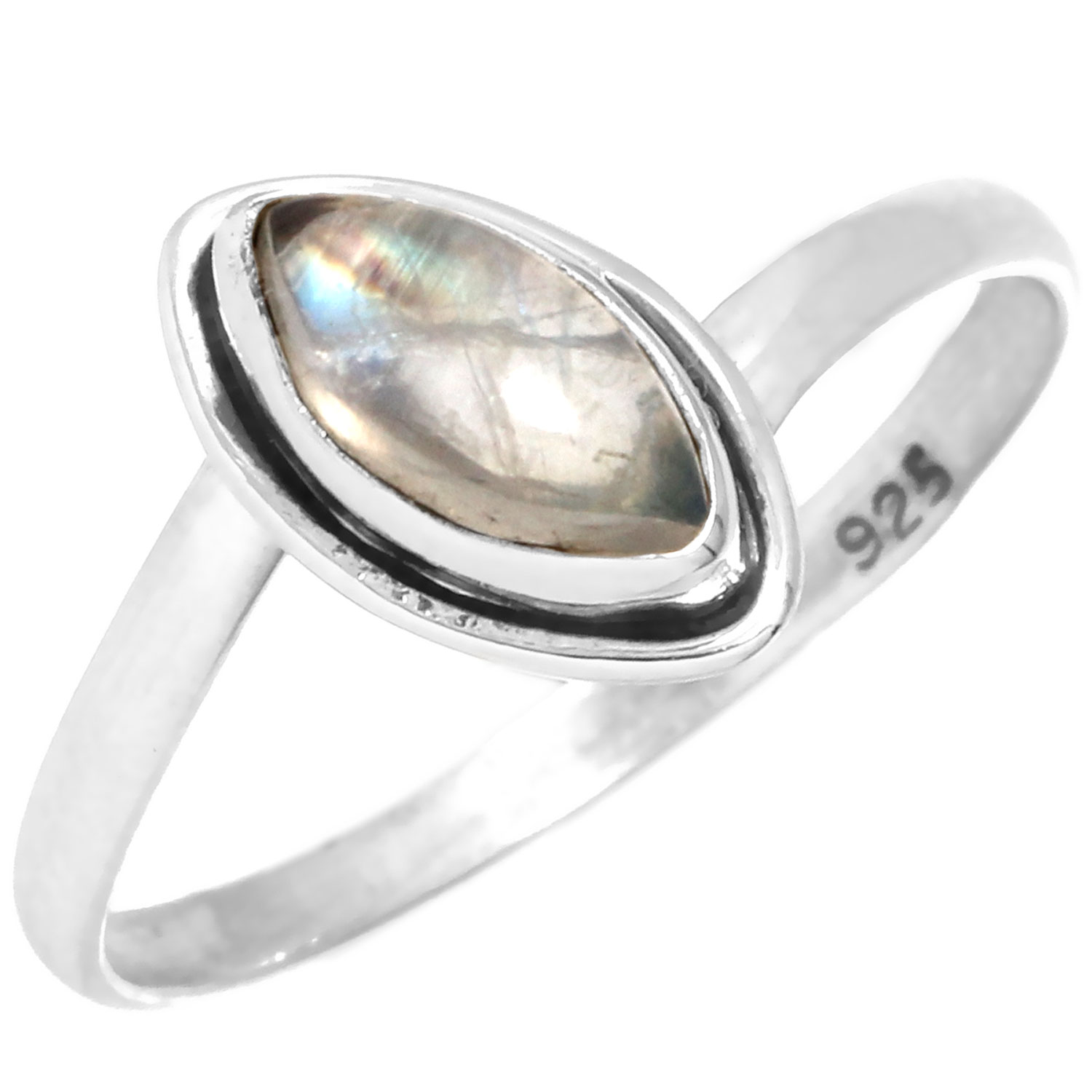 wholesale Sterling Silver Gemstone Ring (rg812rmf_9)