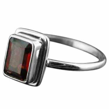 Sterling silver Garnet (2ctw) Ring ID=rg854grf