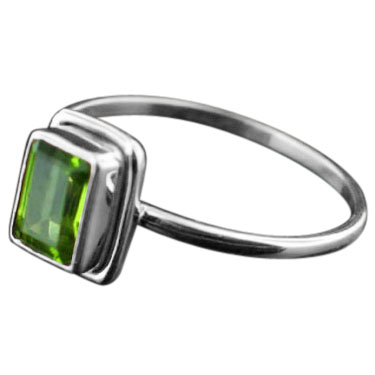 Sterling silver Peridot (2ctw) Ring ID=rg854prf