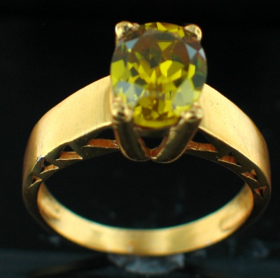 wholesale 24k Gold Plated Ring (rg241Y)