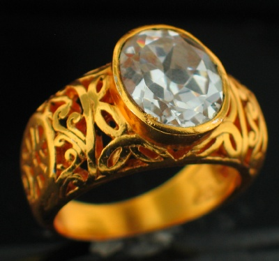 wholesale 24k Gold Plated Ring (rgg305C_10)