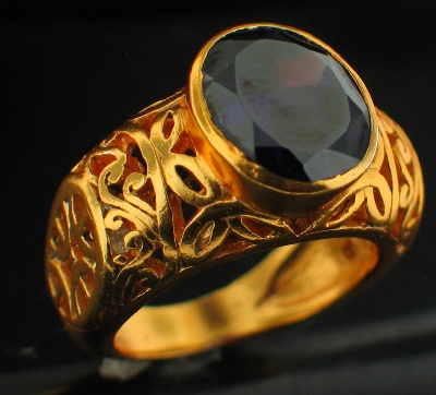 wholesale 24k Gold Plated Ring (rgg305R_7)