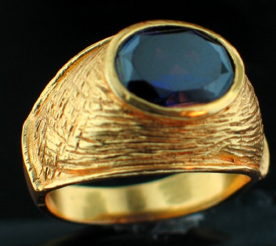 wholesale 24k Gold Plated Ring (rgg329B)