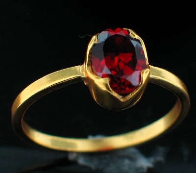 wholesale 24k Gold Plated Ring (rgg707R_10)
