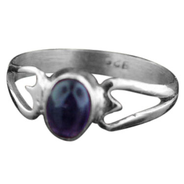wholesale Sterling Silver Gemstone Ring (rn100ame_9)