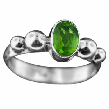 wholesale Sterling Silver Gemstone Ring (rb108bprf_6)