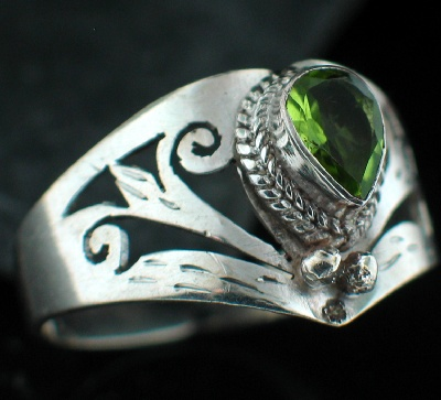 wholesale Sterling Silver Gemstone Ring (rn651prf_9_Custom)