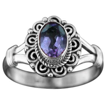 Sterling silver Amethyst (2ctw) Ring ID=rn831amef