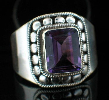 wholesale Sterling Silver Gemstone Ring (rns609amef_8_Custom)