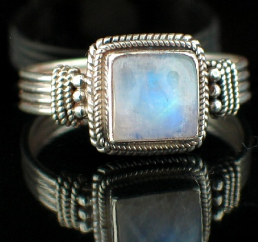 wholesale Large Sterling Silver & Gemstone Ring (rns620rm_B_Custom)