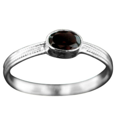 wholesale Stackable Sterling SIlver & Gemstone Ring (rst03grf)