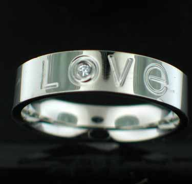 Sterling silver Stainless Steel Ring StainlessSteelRing ID=srg121
