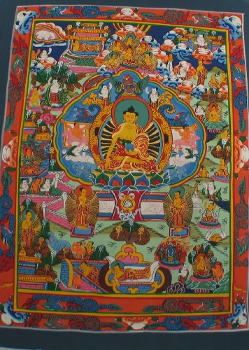 wholesale Tibetan Buddhist Thangka Painting (thangka01)