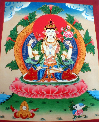 wholesale Tibetan Buddhist Thangka Painting (thangka12)