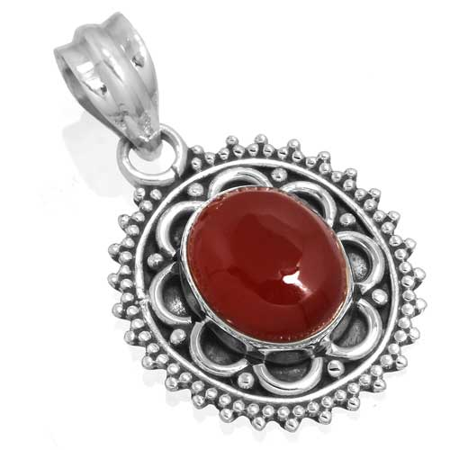Wholesale Extended Line of Wholesale Pendants (Product ID = 14913_P_Red_Onyx_4.70)