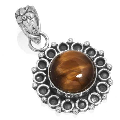 Wholesale Extended Line of Wholesale Pendants (Product ID = 14917_P_Tiger_Eye_4.00)
