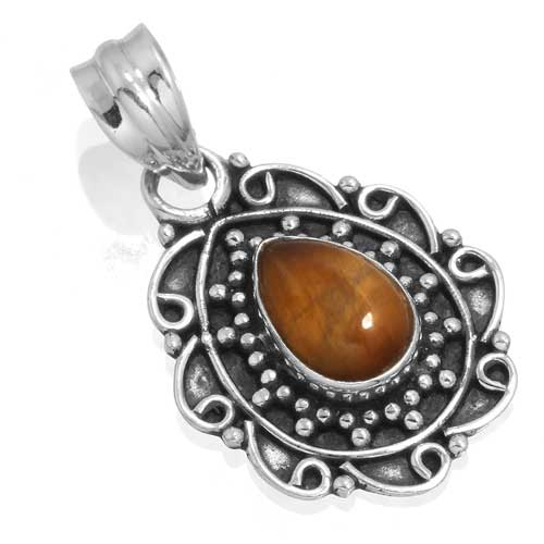 Wholesale Extended Line of Wholesale Pendants (Product ID = 14935_P_Tiger_Eye_3.80)
