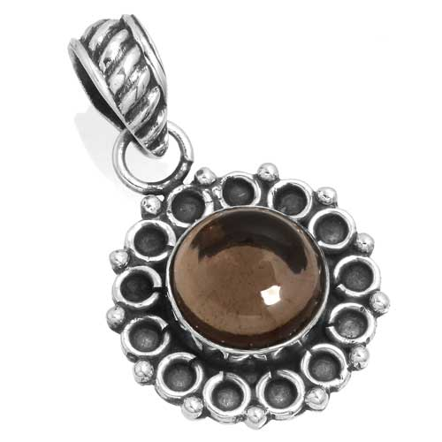 Wholesale Extended Line of Wholesale Pendants (Product ID = 14945_P_Smoky_Topaz_3.60)