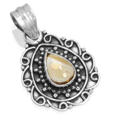 Wholesale Extended Line of Wholesale Pendants (Product ID = 14946_P_Citrine_3.30)