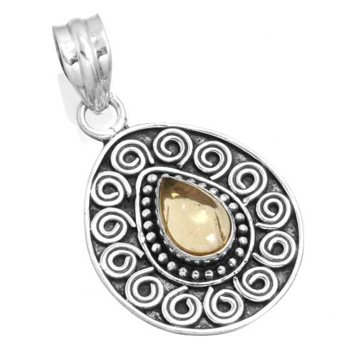 Wholesale Extended Line of Wholesale Pendants (Product ID = 14947_P_Citrine_4.40)