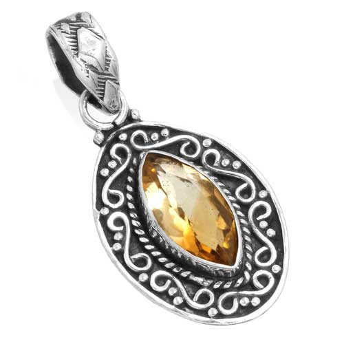 Wholesale Extended Line of Wholesale Pendants (Product ID = 14957_P_Citrine_3.90)