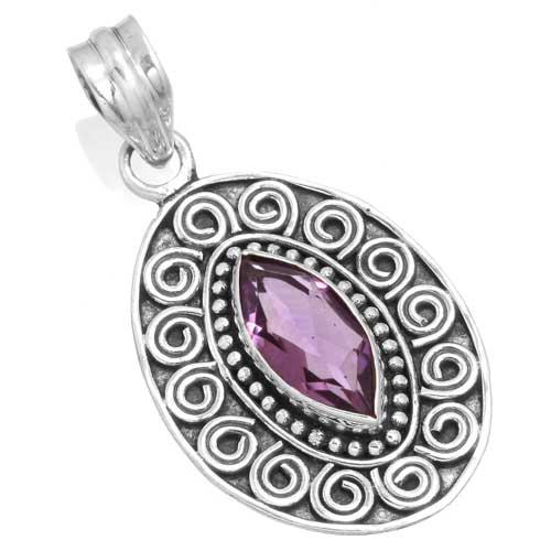Wholesale Extended Line of Wholesale Pendants (Product ID = 14959_P_Amethyst_5.10)