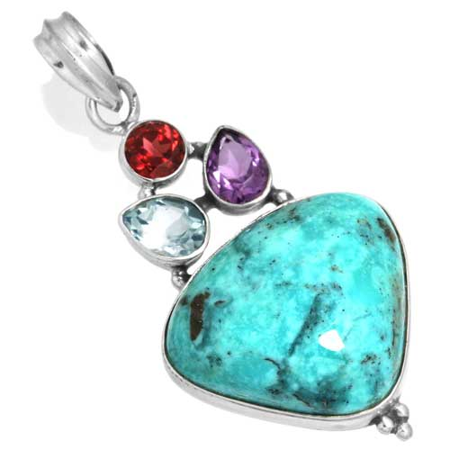 Wholesale Extended Line of Wholesale Pendants (Product ID = 16054_P_Turquoise_7.20)