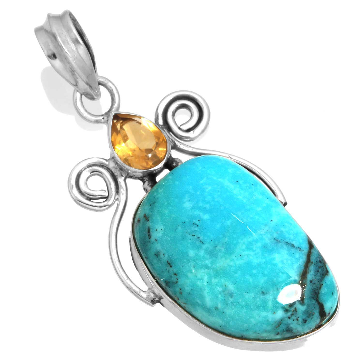 Wholesale Extended Line of Wholesale Pendants (Product ID = 16056_P_Turquoise_6.10)