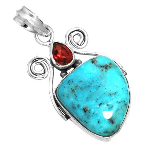Wholesale Extended Line of Wholesale Pendants (Product ID = 16057_P_Turquoise_5.50)