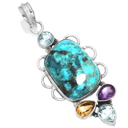 Wholesale Extended Line of Wholesale Pendants (Product ID = 16063_P_Turquoise_6.70)
