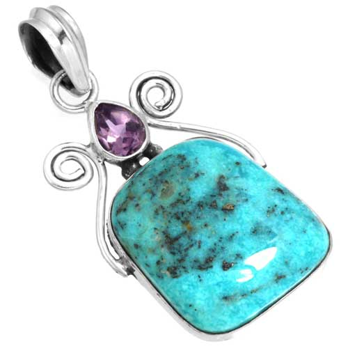 Wholesale Extended Line of Wholesale Pendants (Product ID = 16073_P_Turquoise_6.30)