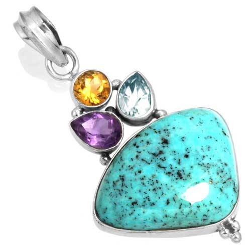 Wholesale Extended Line of Wholesale Pendants (Product ID = 16074_P_Turquoise_6.20)