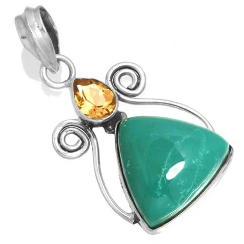 Wholesale Extended Line of Wholesale Pendants (Product ID = 16078_P_Turquoise_4.70)