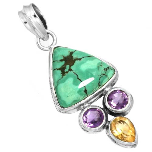 Wholesale Extended Line of Wholesale Pendants (Product ID = 16093_P_Turquoise_5.30)