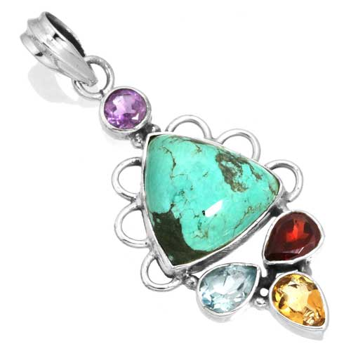Wholesale Extended Line of Wholesale Pendants (Product ID = 16098_P_Turquoise_5.30)