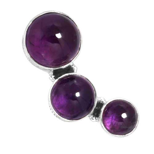 Wholesale Extended Line of Wholesale Pendants (Product ID = 16138_P_Amethyst_6.40)
