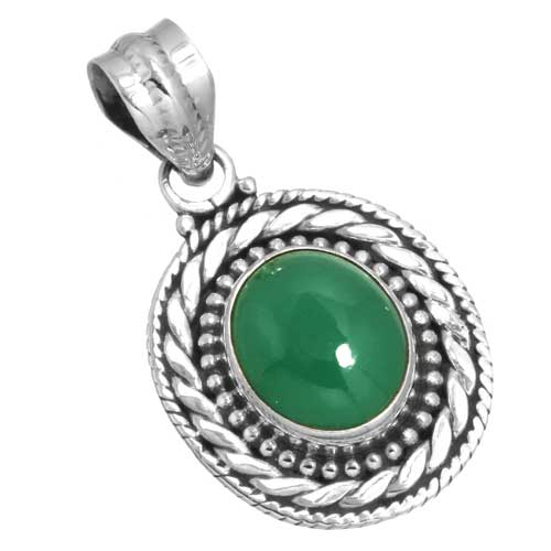 Wholesale Extended Line of Wholesale Pendants (Product ID = 16152_P_Green_Onyx_4.40)