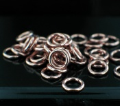 Sterling silver Copper Spacers (10mm) Findings_Copper