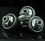 Sterling silver Silver Plated Beads Findings_SilverPlated