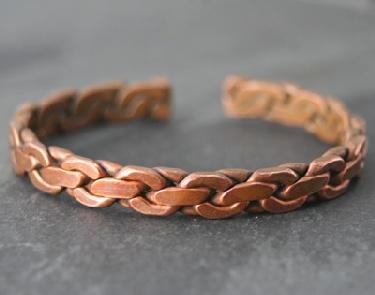 Sterling silver Copper Alloy CopperBracelet
