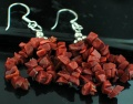 Sterling silver Goldstone Earring
