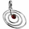 Sterling silver Carnellian Pendant