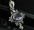 Sterling silver Amethyst (2ctw) <br>On Sale Through June 4 Pendant