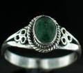 Sterling silver Aventurine Ring