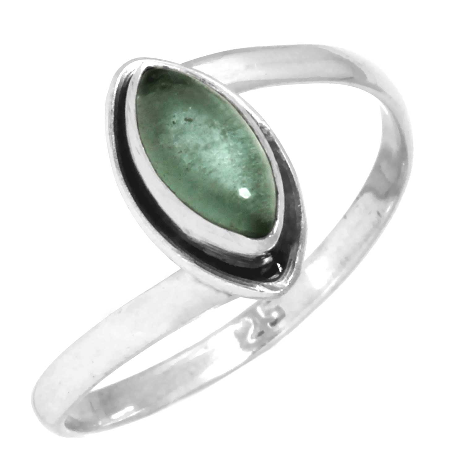 Sterling silver Fluorite Ring