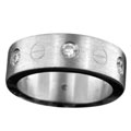 Sterling silver Stainless Steel Ring StainlessSteelRing