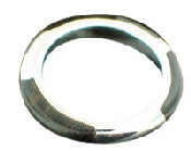 Sterling silver Silver & Wood Ring ring